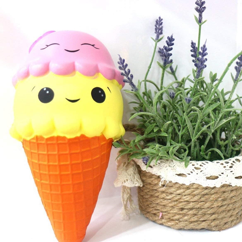 Lingling Springback Pu Double Layer Ice Cream Slow Rebound Ice Cream Multi-Color