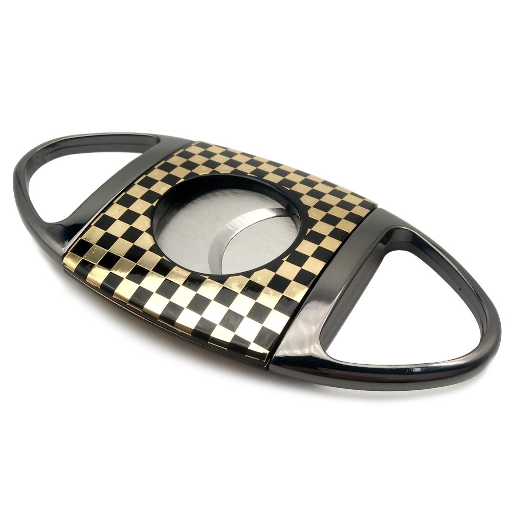 OYHBO Cigar Cutter Stainless Steel Guillotine Style