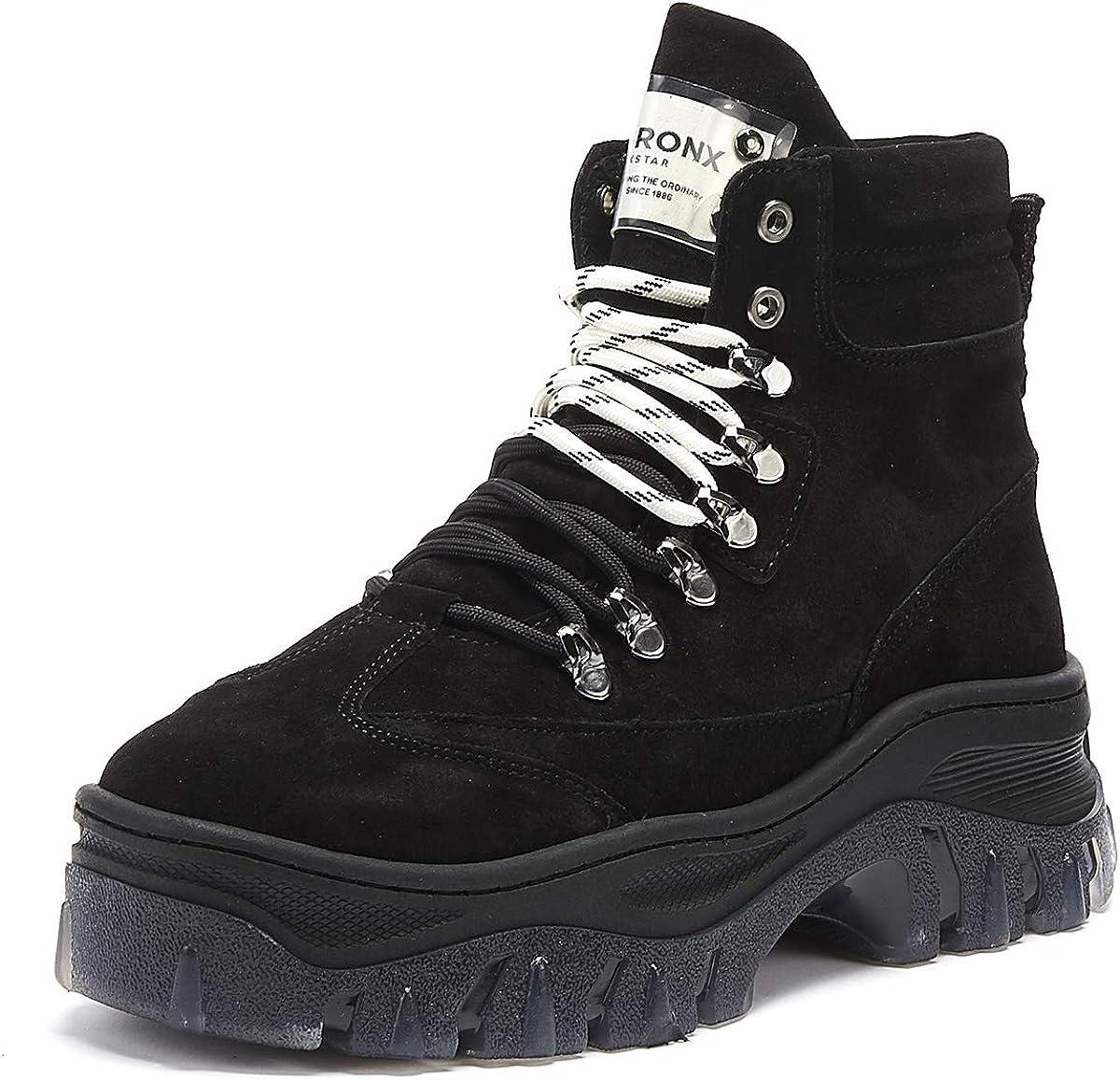 BRONX SHOES Womens Boots, Colour Black