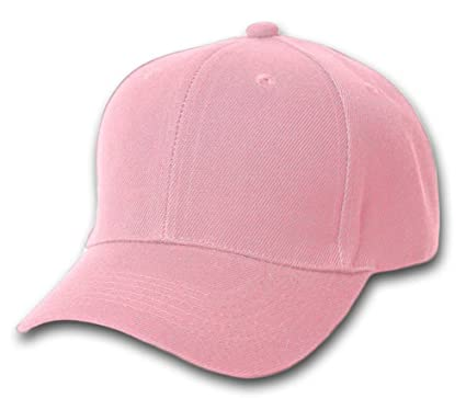 12 Baseball Caps Wholesale- Pink at Amazon Women s Clothing store  6bd2387cd85