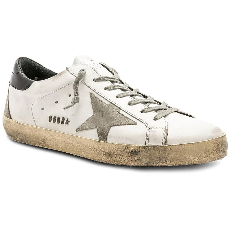 (ゴールデン グース) Golden Goose メンズ シューズ靴 スニーカー Superstar Sneakers [並行輸入品] B07F79THL1
