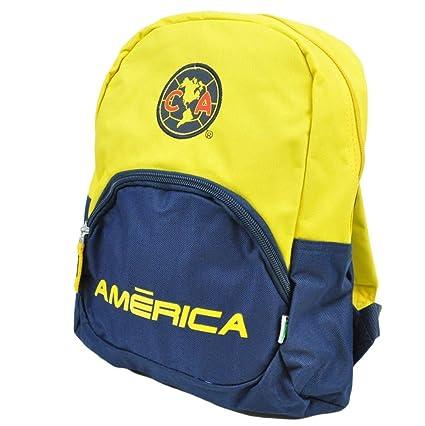 Amazon.com: Club Aguilas del America Futbol Soccer Mexico FMF Kids Backpack Mochila School: Sports & Outdoors