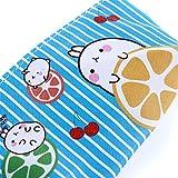 LZIYAN Cartoon Rabbit Pencil Case Cute Stationery Storage Bag Waterproof Cosmetic Bag School Supplies For Students,Blue