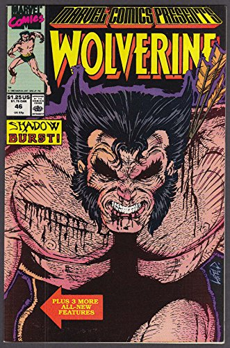 MARVEL COMICS PRESENTS #46 Wolverine comic book 1990 by The Jumping Frog