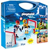 PLAYMOBIL Multisport Carrying Case Playset, 5993, 35pc