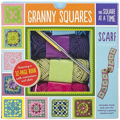Quayside Publishing Granny Squares Scarf Kit