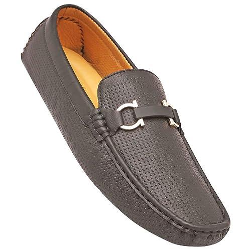 281943310b2 tresmode Men s Black Casual Horsebit Loafers   Moccasins  Buy Online ...
