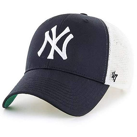 9215c1a23a43a Image Unavailable. Image not available for. Colour   47 Brand MLB New York  Yankees MVP Trucker Branson Cap Kids ...