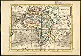 Historic Map | 1732-1736 Africa | Antique Vintage Reproduction