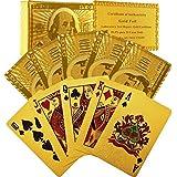 FlashHawk(TM) Poker 24k Gold Playing Cards