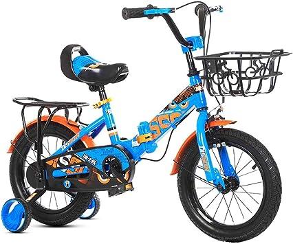 MYMGG Bicicleta Infantil para niños y niñas a Partir de 3 años ...