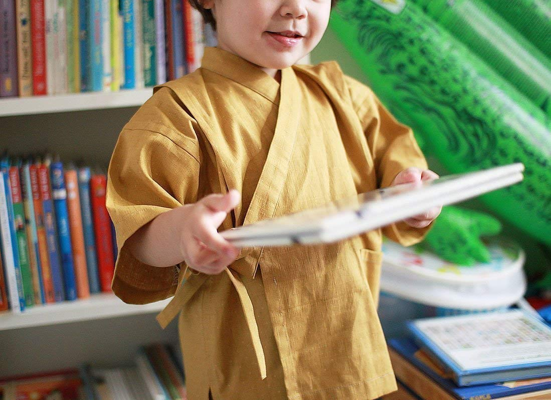 Sewing Pattern for a Kids Jinbei