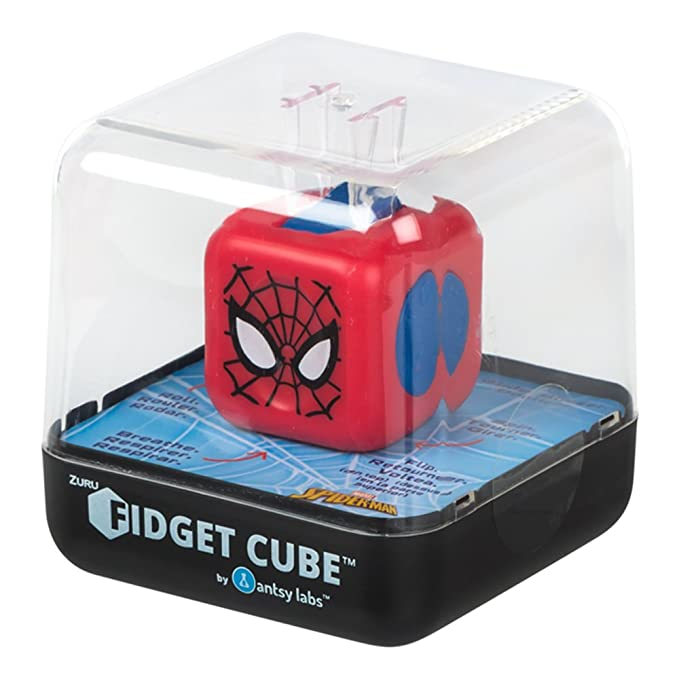 Amazon.com: ZURU Spiderman Fidget Cube (COLORBABY 85172 ...