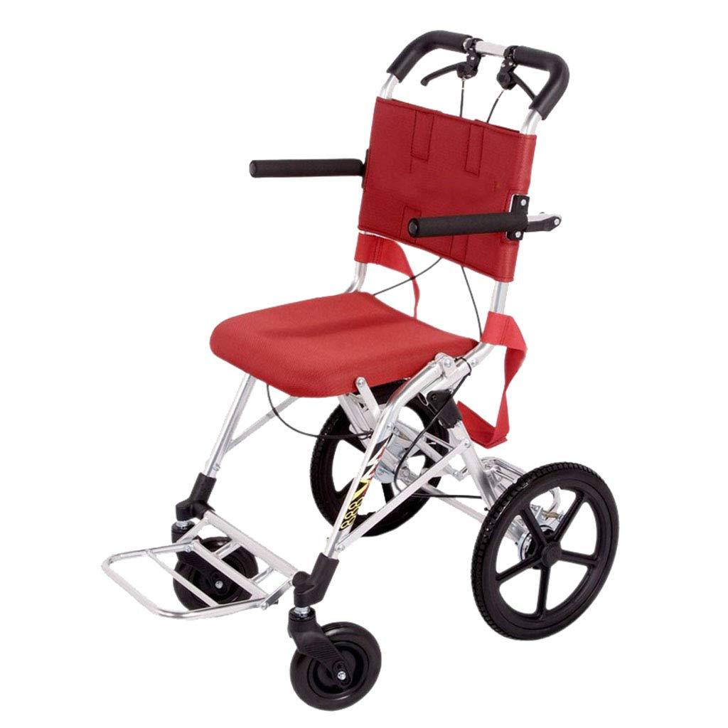 最上の品質な 自走用車いす Size 車いす (Color B07L9LHQ5C 高齢者の折り畳み旅行車いすポータブルスクーター 航空機車いす 両親のためのギフト 100kg (Color : Red, Size : 48*66*88cm) 48*66*88cm Red B07L9LHQ5C, 豊岡村:77ae6f51 --- a0267596.xsph.ru