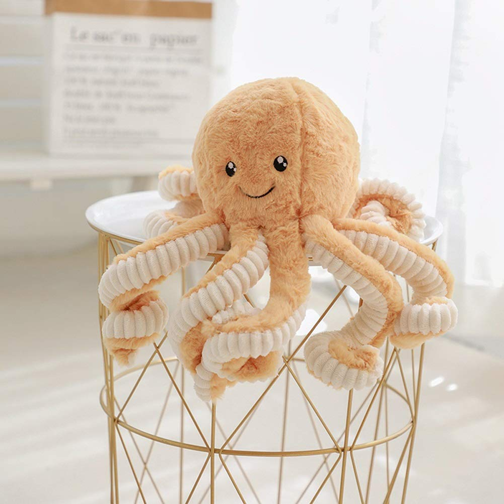 DENTRUN Octopus Plush Doll,Stuffed Animal Octopus Education Play Toys Plush Pillow for Kids Girl Boy Birthday Xmas Gift Present 7/16/24/32 Inches,5 Colors