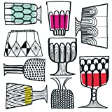 Ideal Home Range 40 Count 3-Ply Paper Cocktail Napkins, Marimekko Collection (Kippis)