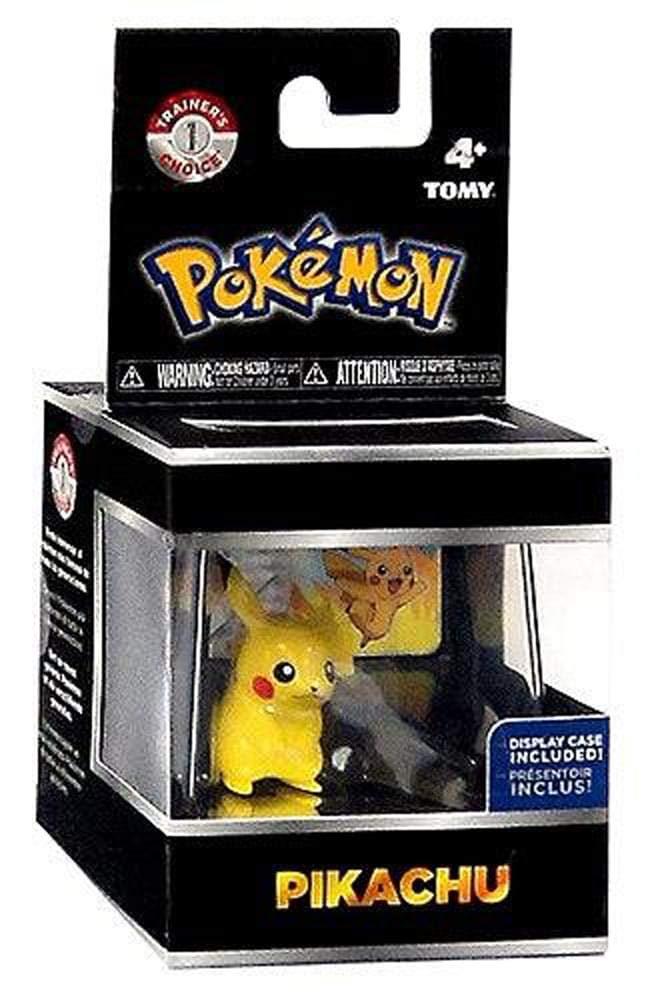 TOMY Pokemon Trainers Choice Pikachu Mini Figure