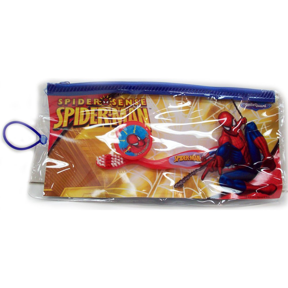 Spiderman Toothbrush + Bag
