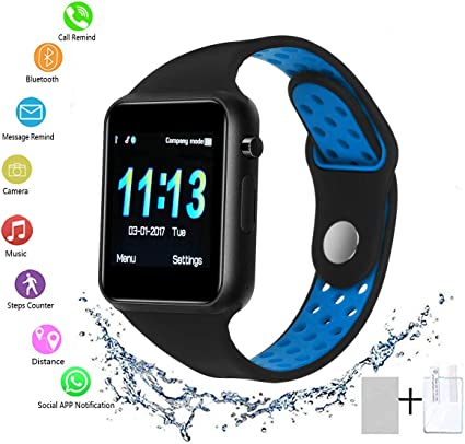 Amazon.com: Sunetlink - Reloj inteligente Bluetooth con ...