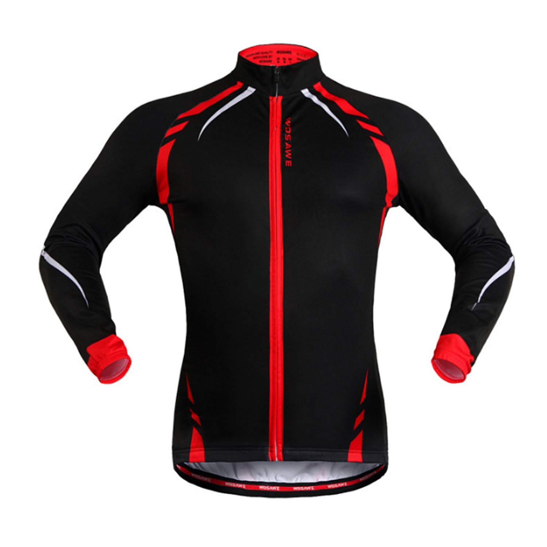 Jersey Cycling Herbst und Winter Fleece Jersey Radfahren Tops
