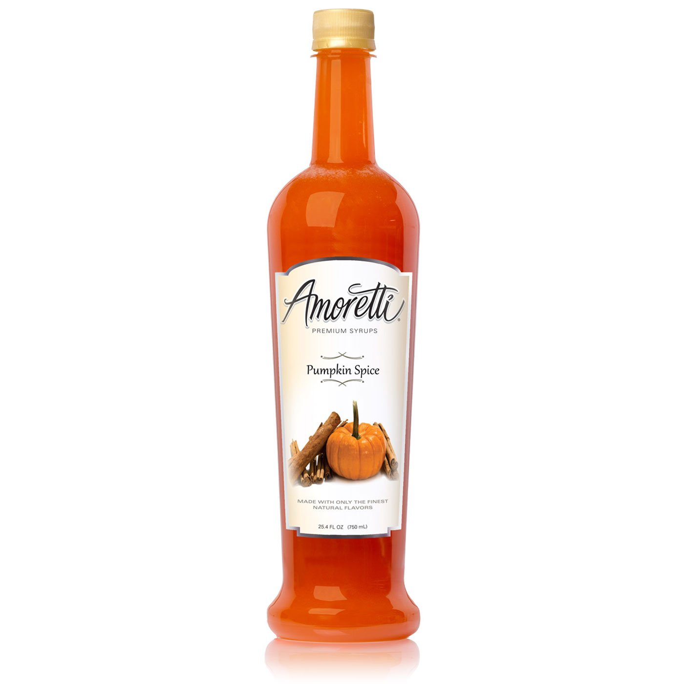 Amazon.com : Amoretti Premium Syrup, Pumpkin Spice, 25.4 Ounce (Pack of 12) : Grocery & Gourmet Food
