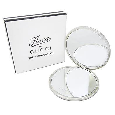 430646d94366 Amazon | GUCCI グッチ ミラー ハンドミラー ケース付き 鏡 二面鏡 ロゴ ...