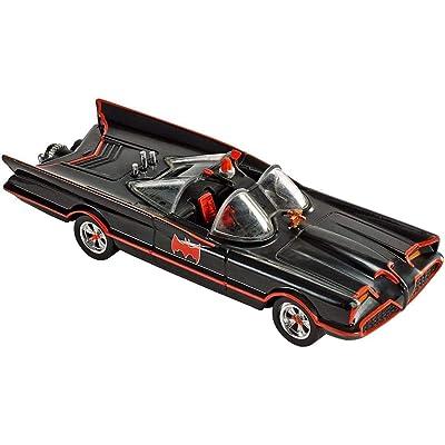 Hot Wheels Batman 1966 TV Batmobile 2012 1:50 Scale Collectible Die Cast Car: Toys & Games