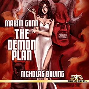 Maxim Gunn: The Demon Plan Audiobook