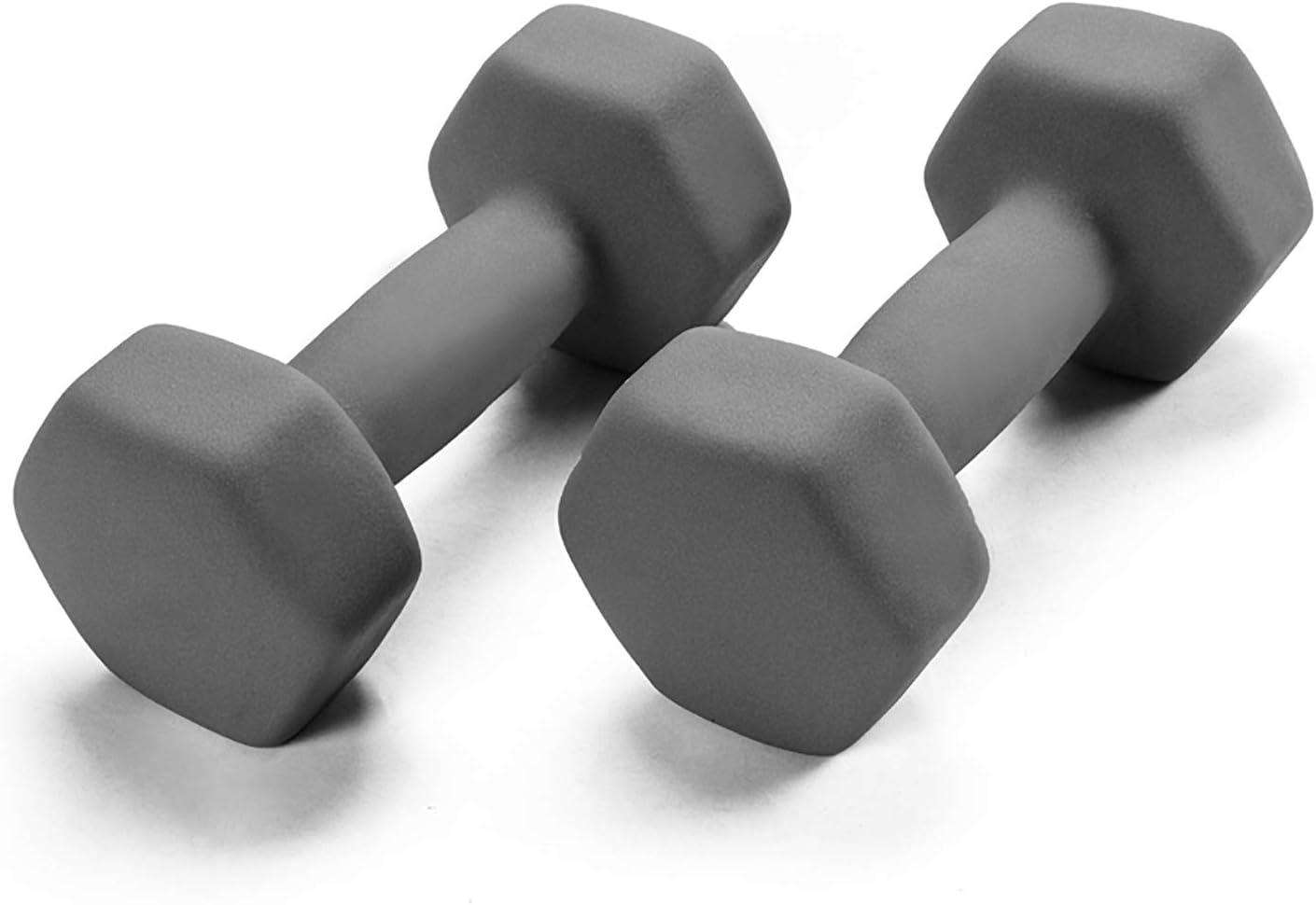 Portzon 1LB Weights Neoprene Dumbbells