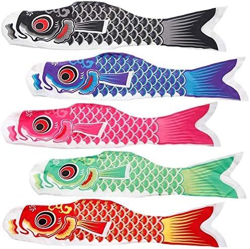 こいのぼり鯉風ソックスこいのぼりカラフルな魚の旗ウォールDecorRamadan祭GiftRamadan祭のギフトをぶら下げ GBYGDQ (Color : Pink)