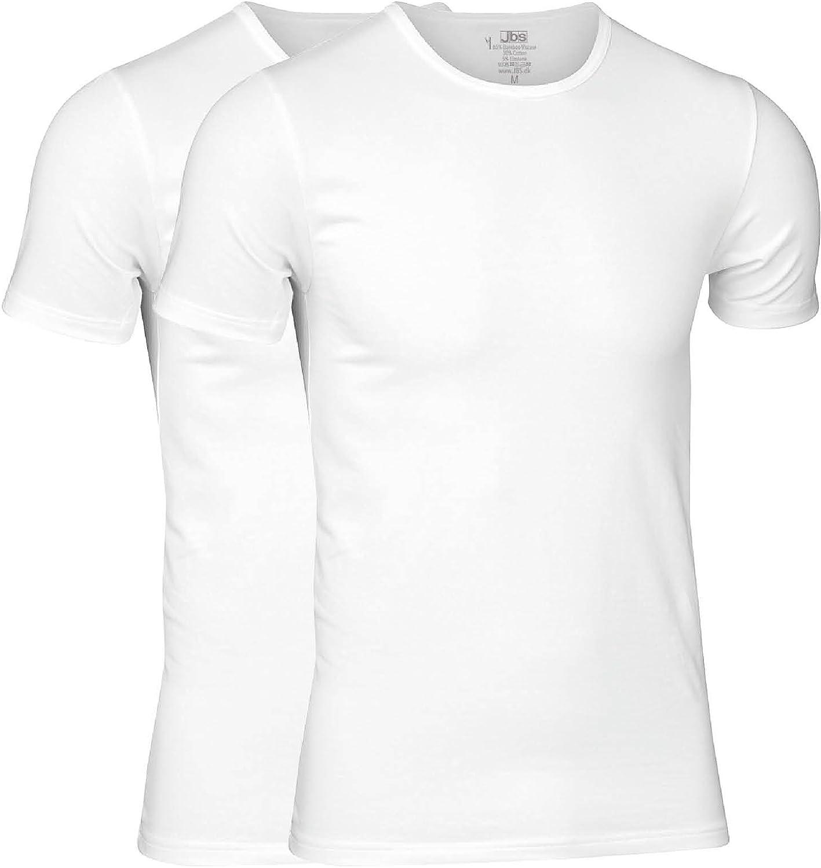 Unterziehshirt aus Viskose Hochwertiges T-Shirt f/ür Herren im Doppelpack jbs aus Bambus-Cellulose und Baumwolle