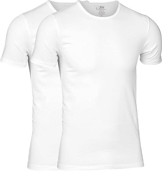 jbs - Camiseta Hombre - 2-Pack - Camiseta Interior de Viscosa de ...
