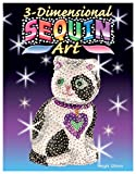 Sequin Art 3D, Cat, Sparkling Arts and Crafts Kit; Creative Crafts for Adults and Kids