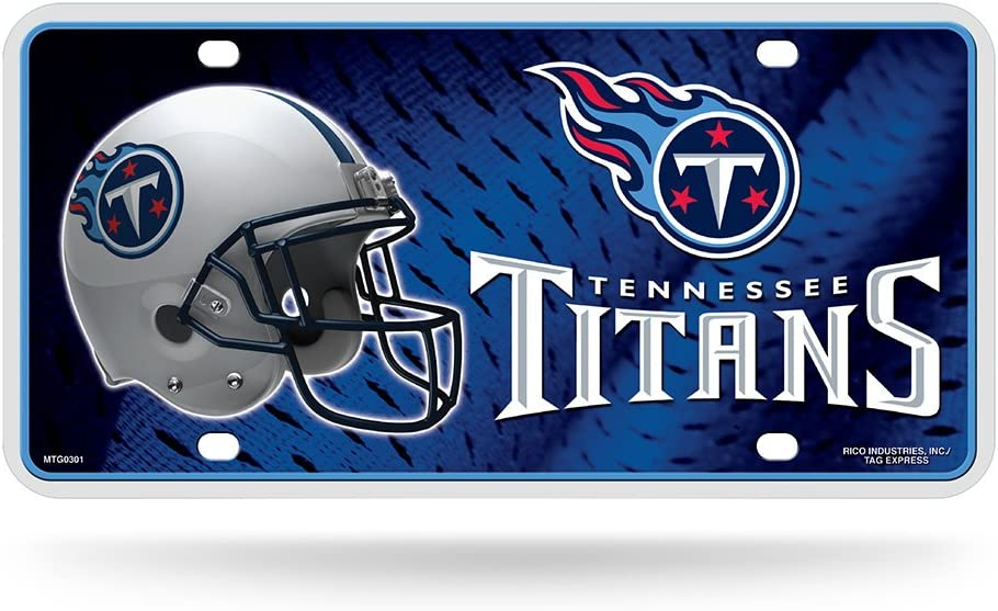 Rico Carolina Panthers Silver Laser Cut License Plate Rico Industries-Tag Express