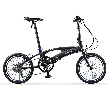 Monociclos Bicicleta Plegable Bicicleta Unisex 18 Pulgadas Juego de Ruedas 8 velocidades de Velocidad Variable Ultraligera