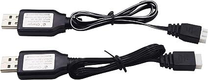 USB 3,7 V Lipo Akku Ladegerät Kabel für JJRC H47 E56