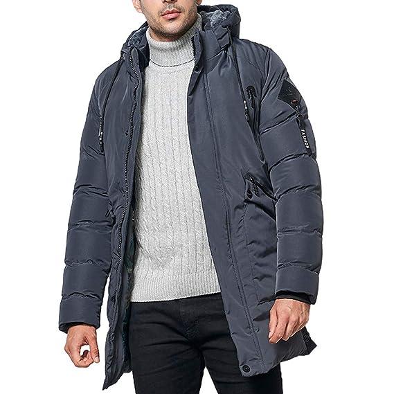 HUIHUI 2019 Winterjacke Herren Nike weiß schwarz Mantel lang