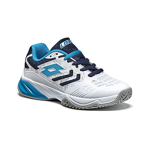 Lotto Stratosphere V Jr L, Zapatillas de Tenis Unisex Niños: Amazon.es: Zapatos y complementos