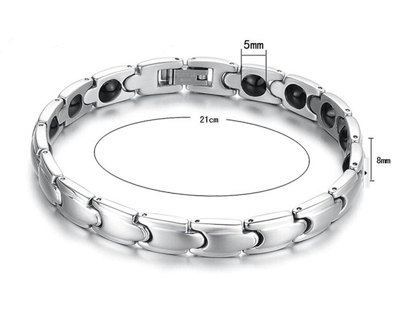 Feraco Titanium Magnetic Therapy Bracelet Image 2