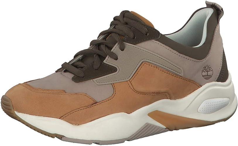 Timberland Damen Delphiville Sneaker, Schwarz