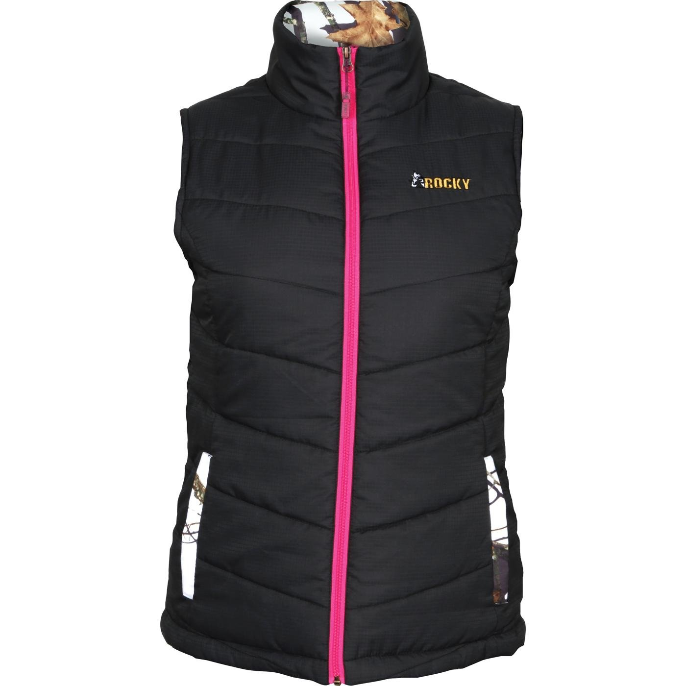 Rocky Women's Quilted Vest, Black, Large by Rocky