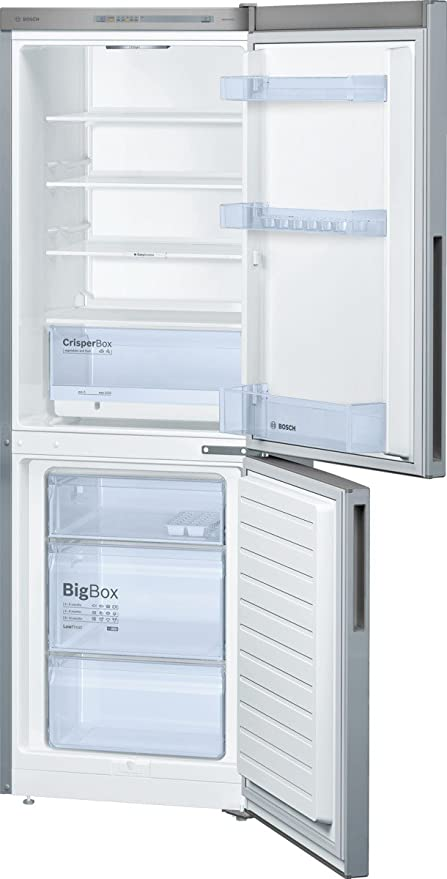 Bosch KGV33UL30 Freestanding Stainless steel 194L 94L A++ nevera y ...
