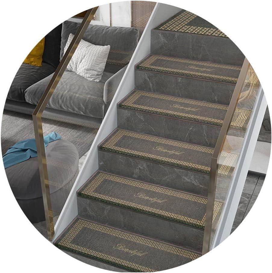 La alfombra XIAOXIAO Alfombrilla para Escalera Inicio De Oficina Alfombrillas para Escalera Sin Adhesivo Autoadhesivo Escalera Escalera Rectángulo 3 Colores Varios Tamaños: Amazon.es: Hogar