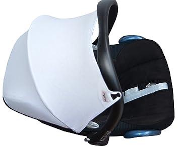 JANABEBE Capota para Maxi-Cosi Cabriofix White