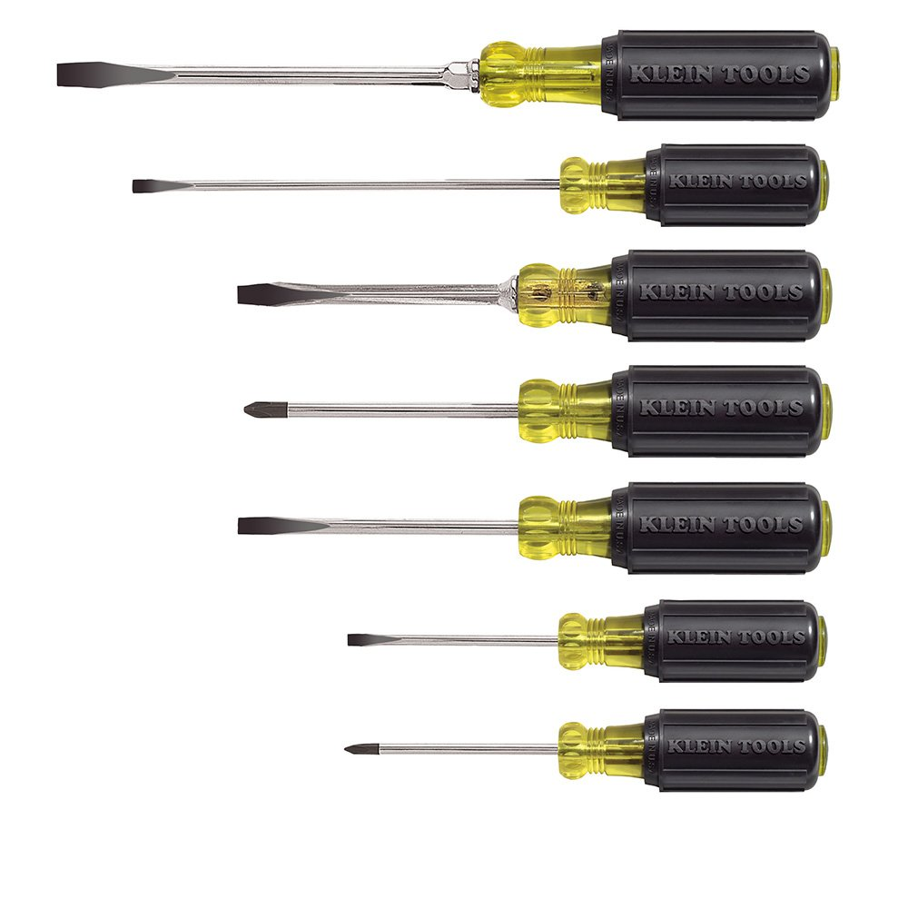 Klein Tools 85076 7 Piece Cushion-Grip Screwdriver Set by Klein Tools (Image #2)