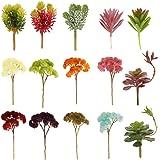 ノーブランド品 プラスチック製 人工観葉植物 多肉植物 植物 装飾 インテリア 15種類選ぶ - スタイル1