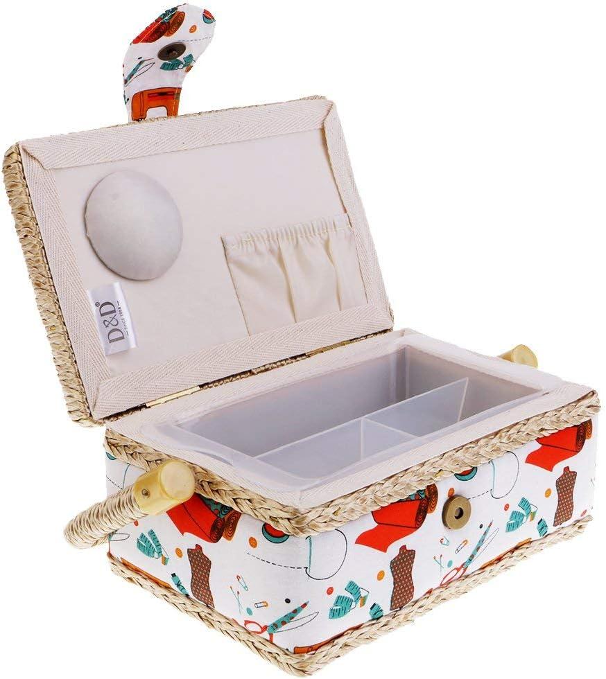 Tubayia - Costurero con separadores para casa o Viajes: Amazon.es ...