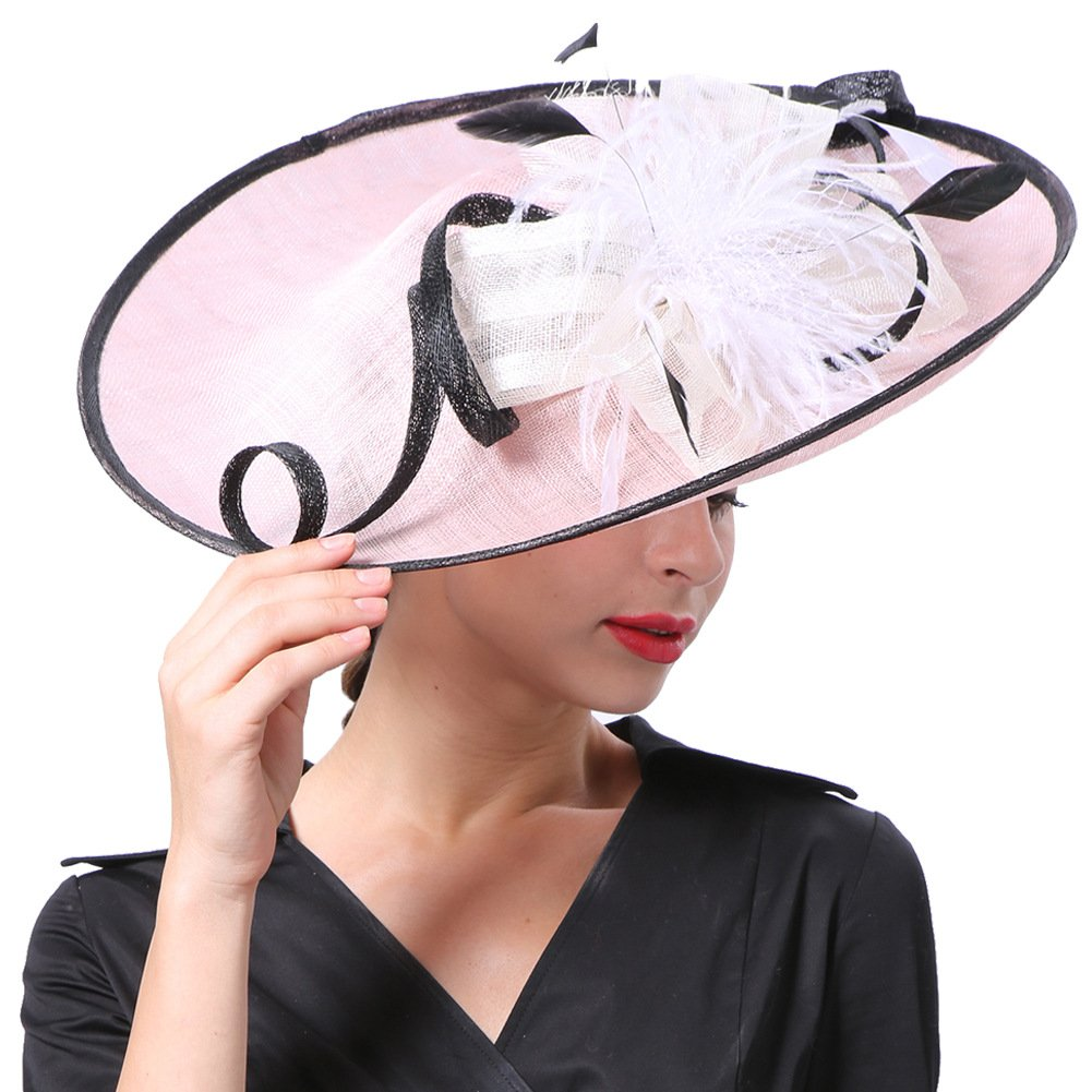 Koola's Lady Fascinator Kentucky Derby Hat Wedding Tea Party Kentucky Headwear MM-000113