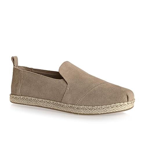 TOMS Deconstructed Alpargata Mujer Zapatos Gris: Amazon.es: Zapatos y complementos