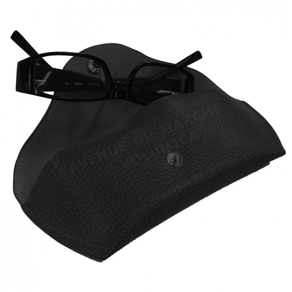 Funda rígida para gafas con Fabricación francesa, color negro Volumica